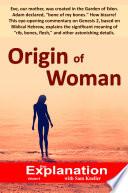Origin of Woman