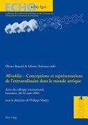 Conceptions et représentations de l'extraordinaire dans le monde antique