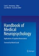 Handbook of Medical Neuropsychology Book