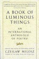A Book of Luminous Things