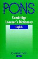 Cambridge Learner s Dictionary Klett Edition