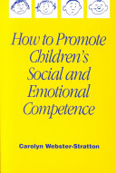 How to Promote Children s Social and Emotional Competence Book