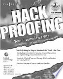 Hack Proofing Your E commerce Web Site