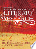 The Handbook To Literary Research