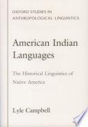 American Indian Languages