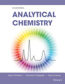 Analytical Chemistry, 7th Edition