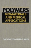 Polymers  Biomaterials and Medical Applications Book
