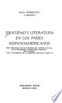 Identidad y literatura en los países hispanoamericanos
