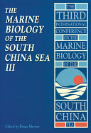 The Marine Biology of the South China Sea III
