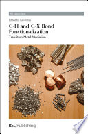 C H and C X Bond Functionalization
