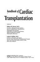 Handbook of Cardiac Transplantation Book