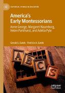 America's Early Montessorians Pdf/ePub eBook