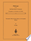 Thermospheric Winds And Their Influence On The Ionosphere Book PDF
