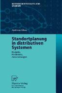 Standortplanung in distributiven Systemen