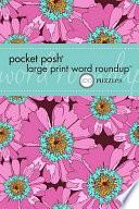 Pocket Posh Large Print Word Roundup