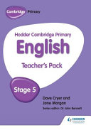 Books - Hodder Cam Primary Eng Tp Stage 5 | ISBN 9781471830952