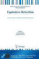 Explosives Detection Book PDF
