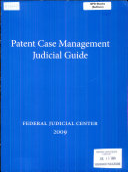 Patent Case Management Judicial Guide