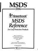 MSDS Reference for Crop Protection Products