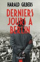 Pdf Derniers jours à Berlin Telecharger