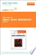 Basic Immunology Pageburst on VitalSource Access Code