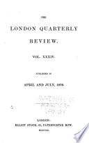 The London Quarterly Review Book PDF