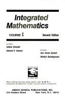 Integrated Mathematics Course  1 Book
