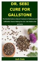 Dr  Sebi Cure for Gallstone Book