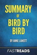 Summary of Bird by Bird