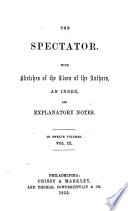 The Spectator By J Addison And Others With Sketches Of The Lives Of The Authors And Explanatory Notes 12 Vols In 6  Book PDF