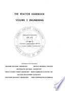 The Reactor Handbook: Engineering