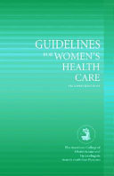 Guidelines for Women s Health Care