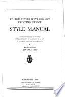 Style Manual Book PDF