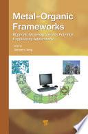 Metal Organic Frameworks Book PDF