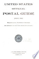 """""""United States Official Postal Guide"""" by United States. Post Office Dept"""