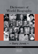 Pdf Dictionary of World Biography