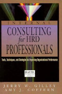 Internal Consulting for HRD Professionals Book