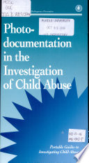 Photo Documentation in the Investigation of Child Abuse  July 2006