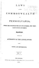 Laws of the Commonwealth of Pennsylvania ebook