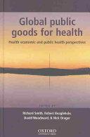 Global Public Goods for Health