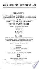 Drug Industry Antitrust Act