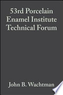 53rd Porcelain Enamel Institute Technical Forum