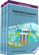 Sustainable Development  Concepts  Methodologies  Tools  and Applications