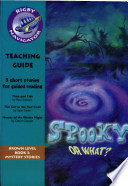 Navigator Fiction Year 3 Spooky Or What