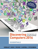 Discovering Computers Essentials 2016
