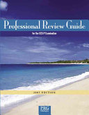 Professional Review Guide for the CCS-P Examination, 2005 Edition