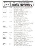 Press Summary - Illinois Information Service ebook
