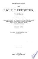 The Pacific Reporter Book