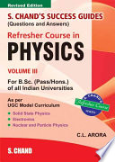 S.Chand'S Success Guide R/C B.Sc Physics Vol -3
