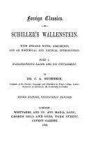Pdf Schiller's Wallenstein